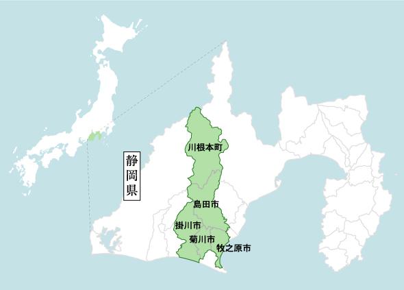 静岡の茶草場へのアクセス(静岡県掛川市 東山・粟ヶ岳)